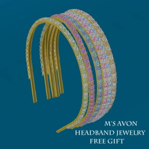 M's Avon FREE Headband jewelry_001