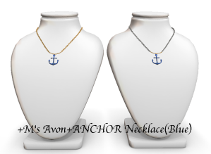 +M's Avon+ANCHOR NecklacePOP