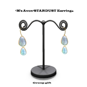 +M's Avon+STARDUST EarringGroup giftのコピー