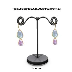 +M's Avon+STARDUST PINK Earring のコピー
