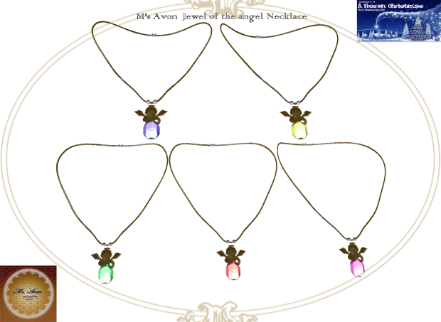 +M's Avon+Jewel of the angel-Necklace2323