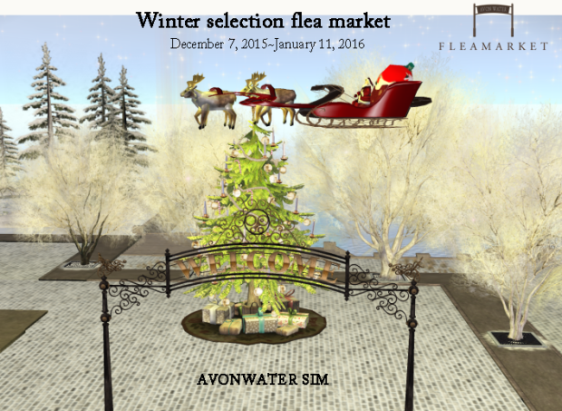Winter selection flea market