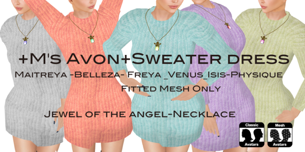 +M's Avon+Sweater dress