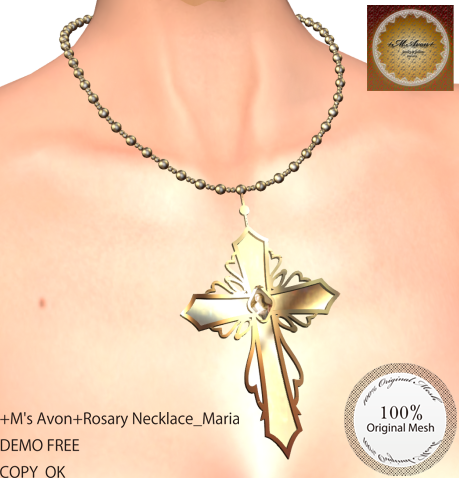 +M's Avon+Rosary Necklace_MariaPOP