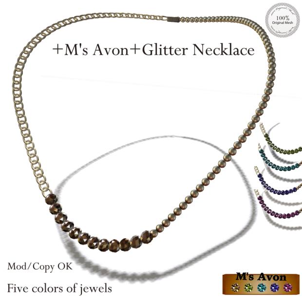 +M's Avon+Glitter Necklacepop_AD1