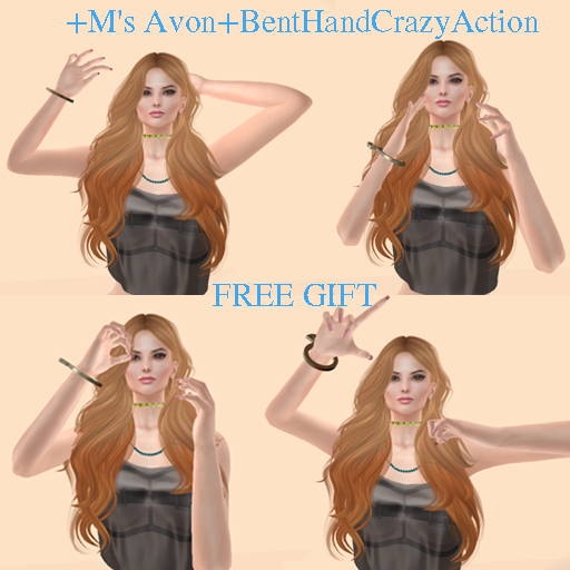 +M's Avon+BentHandCrazyAction
