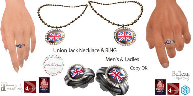union jack men's&ladies